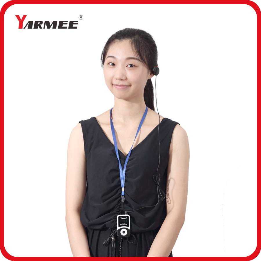 DHL Shipping !!! YARMEE Tour Guide System / Handheld System / Teaching System Including 2 Transmitters And 30 Receivers YT100