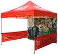 Personalizado pop up tenda para eventos, 18 kg de aço Inoxidável dobrável dossel, impressão digital de abrigo, barraca comercial