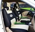 (Передние + Задние) Универсальный Автомобилей Чехлы Для Volkswagen polo седан Jetta Бора Сантана Vista Golf 3D Материал автомобиль Обложки + Бесплатная Доставка