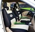 (Delantero y Trasero) de Coche Universal Cubre Para Volkswagen sedan polo Jetta Bora Santana Vista Golf 3D Material Cubiertas del coche + Envío Libre