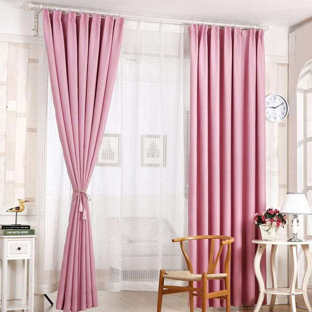 Curtains for the living room 210x100cm Shading Floral Voile Door ...