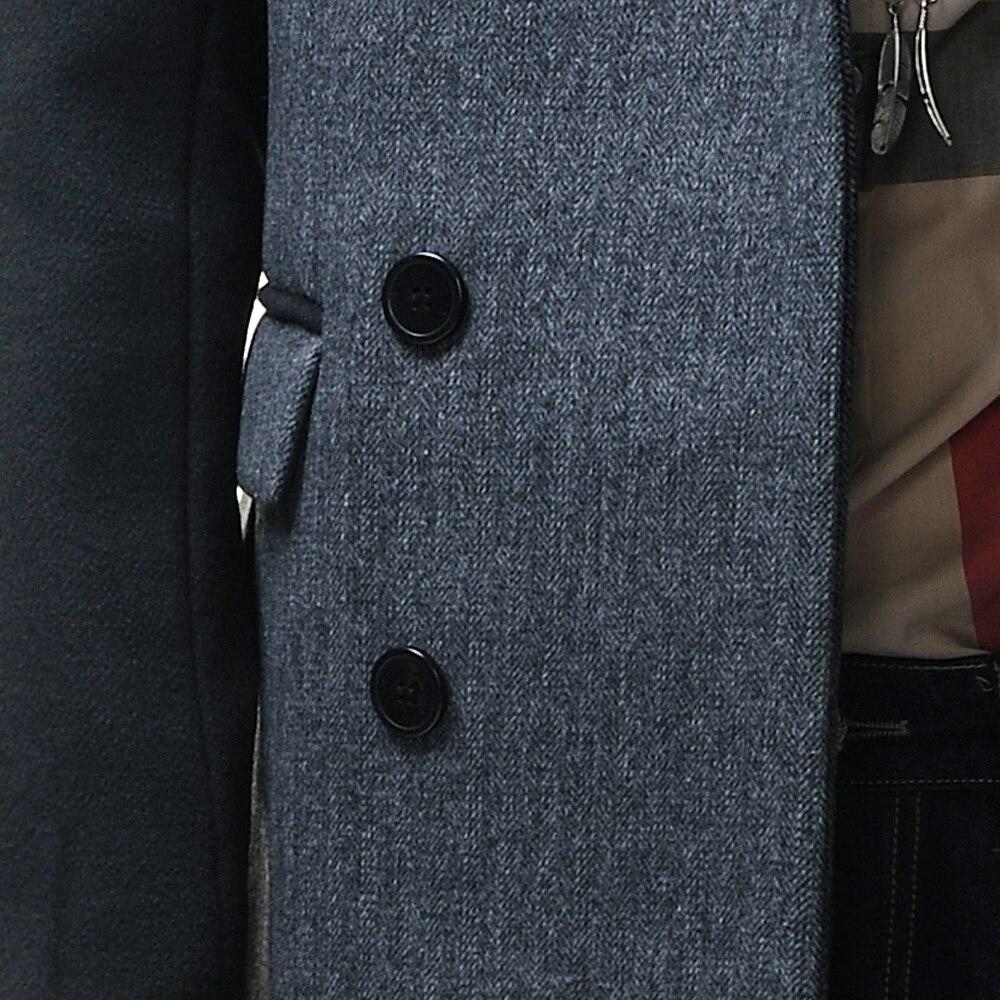 Homme Gray Hommes Boutonnage Linen Annonce Style light 2015 D'affaires Double À Ursmart Gray Nouvelle Angleterre Manteau Veste ZFzfwnp4qx