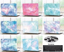 Laptop Shell Case Keyboard Cover Skin Dust Plugs Set For 11 12 13 15