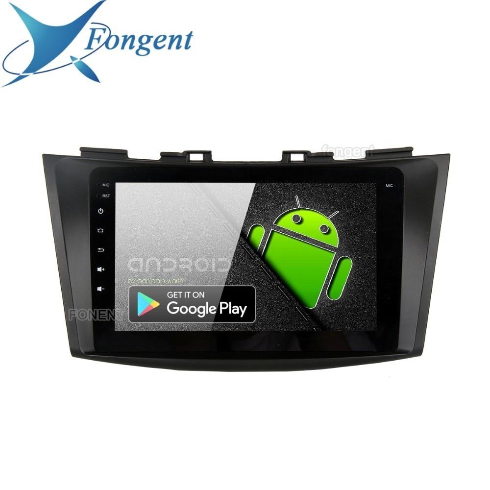 "Fongent 9 ""voiture Multimidia Android 9.0 pour Suzuki Swift 2011 2012 2013 2014 2015 Bluetooth 1080p vidéo autoradio MAX6 radio gps"