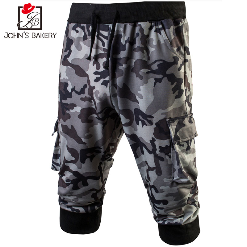 New Arrived 2018 Brand Casual Camouflage Compression Pants Men Cotton Trousers Calabasas Cargo Pants Mens Leggings M-3XL YUJIE