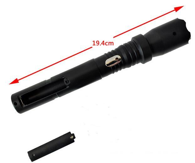 Electric Shock Stick Hot Sell People Funny April Fool's Day The Whole Person Tricky Electric Toy Flashlight