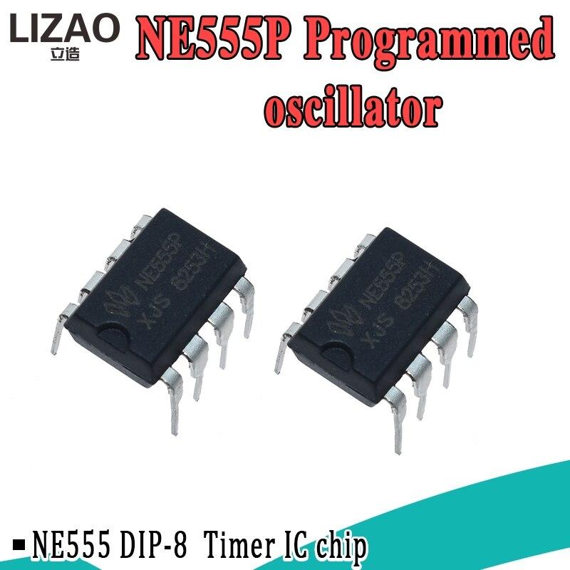 Таймеры NE555 555 DIP-8 IC, новинка, точный таймер хорошего качества, 10 шт.