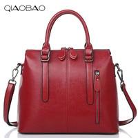 Genuine Leather Bags For Women Famous Brand Shoulder Bags Solid Designer Handbag High Quality Ladies Women