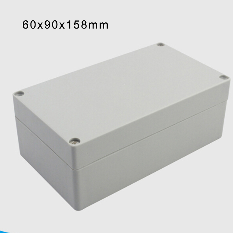 Cabinets Project Anti-static Box Gray Plastic Electronics Waterproof Instrument Case Control Durable