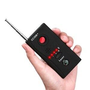 Беспроводной детектор сигнала для объектива камеры CC308 +, радиоприемник, детектор волнового сигнала, камера с полным диапазоном, Wi-Fi, RF, GSM, устройство для поиска