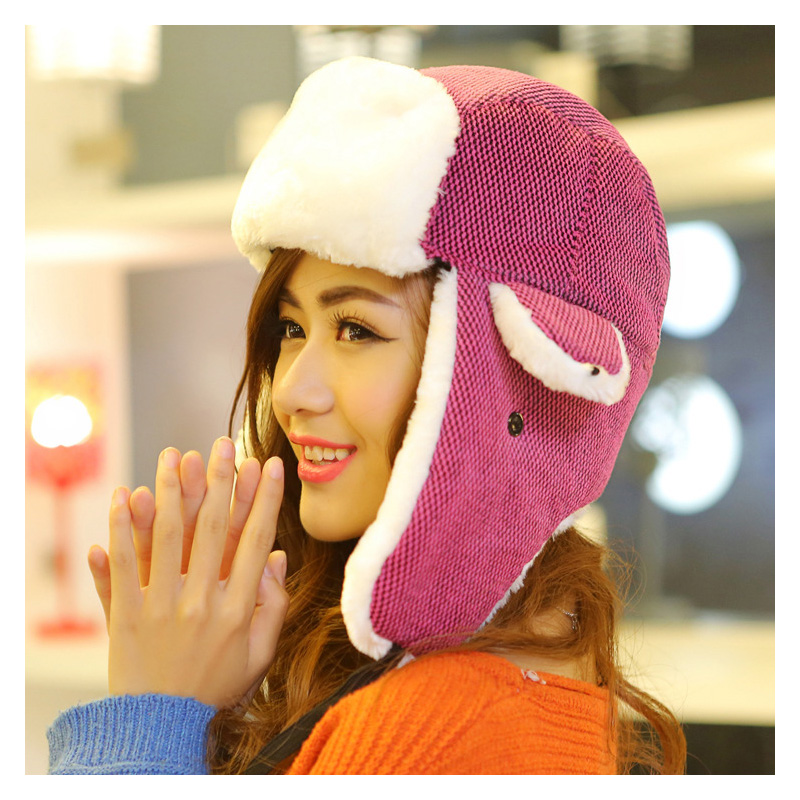 c80aecf8f34 Detail Feedback Questions about Super Warm Winter Hats For Women Russian  Hats Unisex Outdoor Bomber Hat Earflap Hat Cap on Aliexpress.com