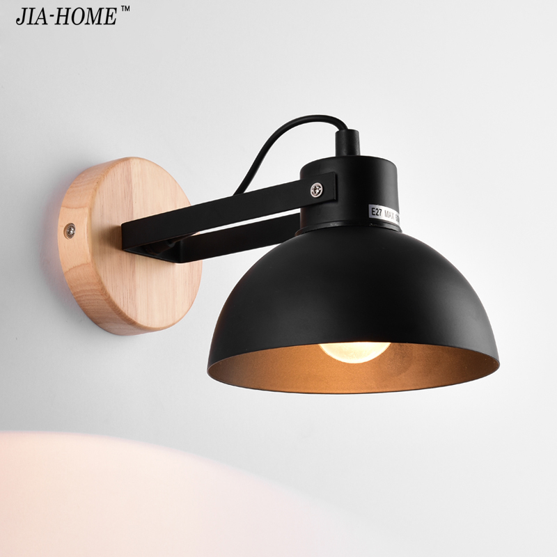 Modern LED Wall Lamp Bedroom Beside Reading balck white Wall Light Indoor Living Room Corridor Hotel Room Lighting Decoration bedroom wall lamp 3w led reading lighting study room wall lamp hotel room decoration light free adjustment of lighting angle