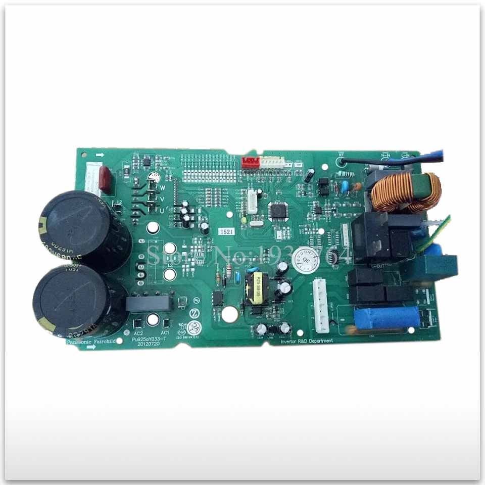 for Air conditioning second-hand computer board circuit board module Pu925aY033-T good working 1 set air conditioning used computer board circuit board zgce 3d 3d4 zgae 81 3d good working