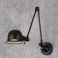 Industrie loft jielde mini Einstellbare retro E14 LED Wand Lichter Leuchte wand Lampe Leuchten für home beleuchtung nacht wohnzimmer-in LED-Innenwandleuchten aus Licht & Beleuchtung bei
