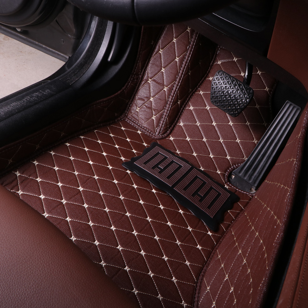 Car  car floor mats for Citroen C5 C4 Air Cross Picasso C-elysee DS5 leather Anti-slip car-styling carpet linerCar  car floor mats for Citroen C5 C4 Air Cross Picasso C-elysee DS5 leather Anti-slip car-styling carpet liner
