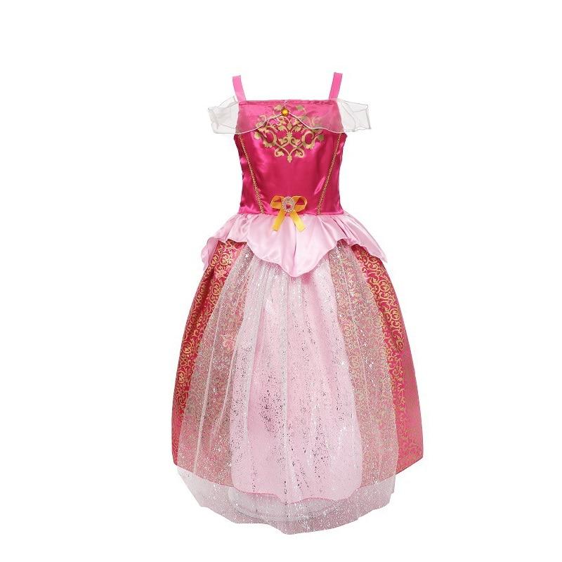 MUABABY Meisjes Rapunzel aankleden Kinderen Sneeuwwitje Prinses - Kinderkleding - Foto 4