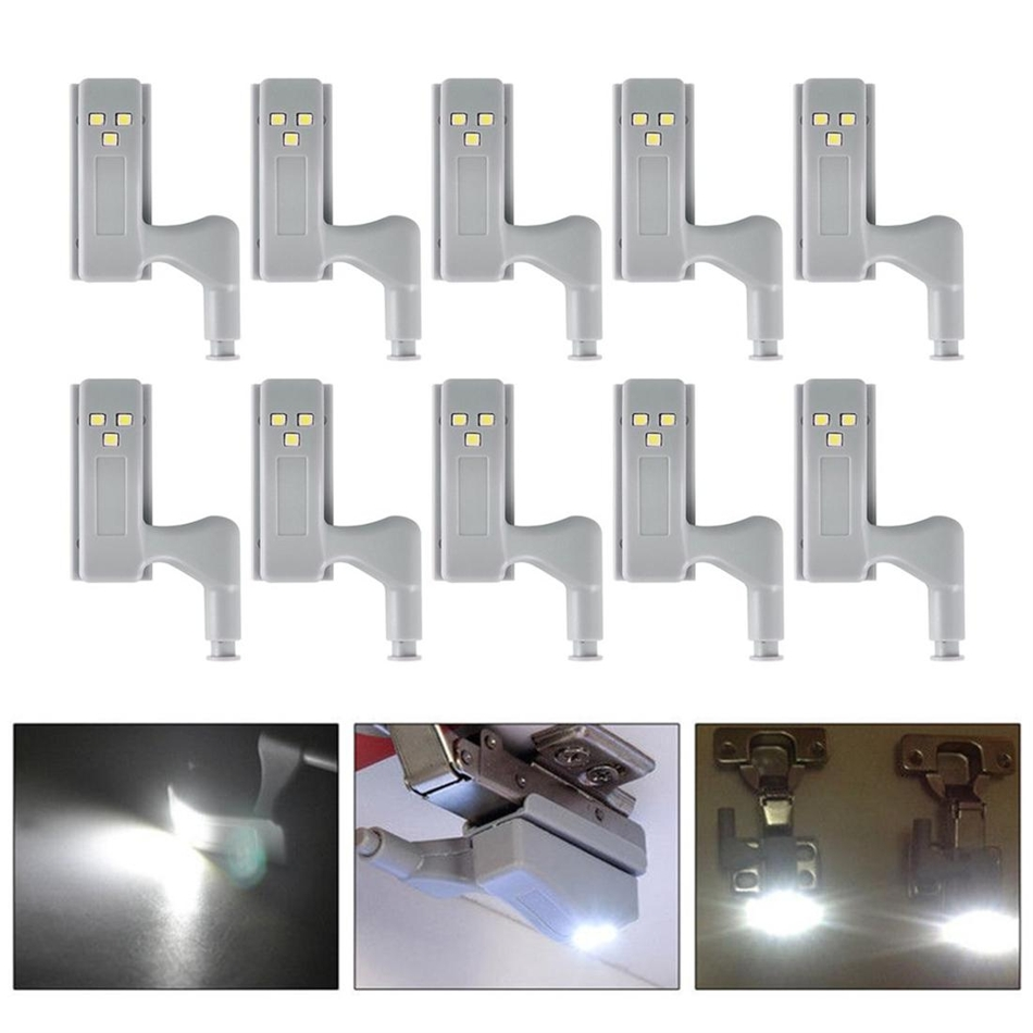 Universal LED Under Cabinet Light 0.25W Inner Sensor Light LED Hardwar Kitchen Bedroom Living Room Cupboard Wardrobe Night Light