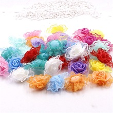 cheap 30PCS/Bag  Mini PE Foam Rose Flower Head Artificial Rose Flowers Scrapbooking Handmade DIY Wedding Home Decoration-in Artificial & Dried Flowers from Home & Garden on Aliexpress.com | Alibaba Group