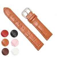 Del Cuoio genuino Watch Band Cinturini 12 millimetri 18 millimetri 20 millimetri 14 millimetri 16 millimetri 24 millimetri 22 millimetri Orologio accessori Da Uomo di Alta Qualità Brown Colori Bracciali