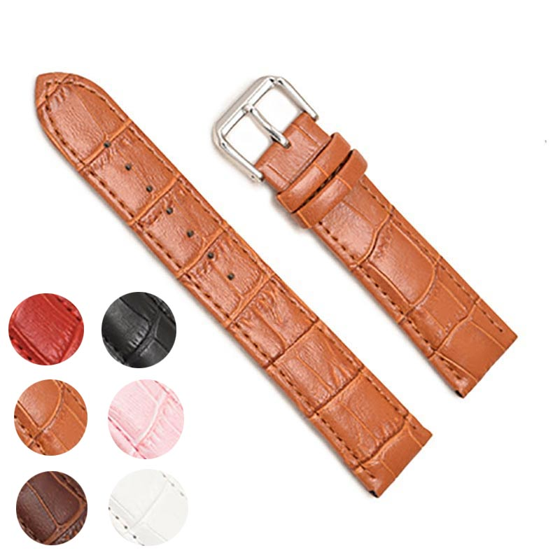 Genuine Leather Watch Band Straps 12mm 18mm 20mm 14mm 16mm 24mm 22mm Watch Accessories Men High Quality Brown Colors BraceletsGenuine Leather Watch Band Straps 12mm 18mm 20mm 14mm 16mm 24mm 22mm Watch Accessories Men High Quality Brown Colors Bracelets