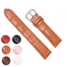 Genuine Leather Watch Band Straps 12mm 18mm 20mm 14mm 16mm 24mm 22mm Accessories Men High Quality Brown Colors Bracelets