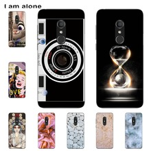 I am alone Phone Cover For Alcatel 1C 1C Dual 5009A 5009D 5.3 inch Solf TPU Cellphone Fashion Cases Shipping Free