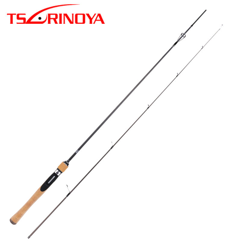 TSURINOYA DRAGON 1.8m UL Light Fishing Spinning Rod 2 Section Lure Weight 1-8g Slow Action Carbon Carp Lure Spinning Fishing Rod цена