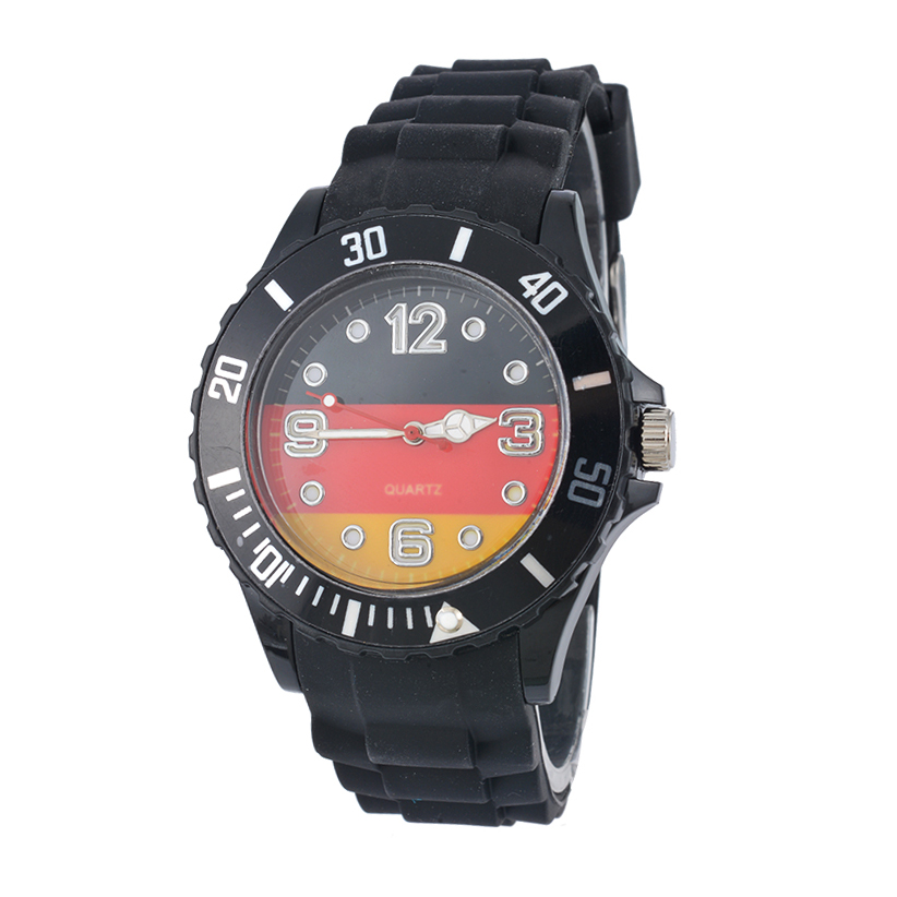 FUNIQUE Football World Cup Fashion Sport Watch Silicone Men Women Germany French Flag  Quartz Watch Casual Wristwatch Clock Hour brazil football fans caxirola cheer horn for 2014 brazil fifa world cup
