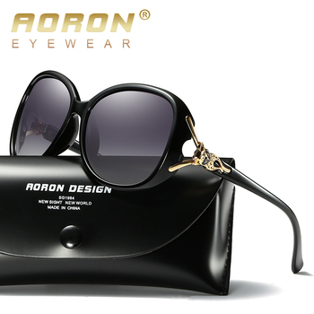 AORON Fashion Womens Polarized Sunglasses Women fox style Sung Lasses  Accessories UV400 Eyeglasses