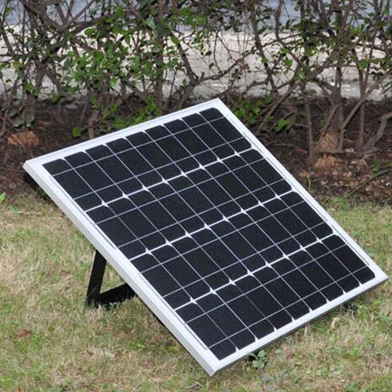Solar Panel 12V 50W Zonnepaneel Solar Charger For Car Battery  Adjustable Solar Module Bracket Mount Solar Light Home System