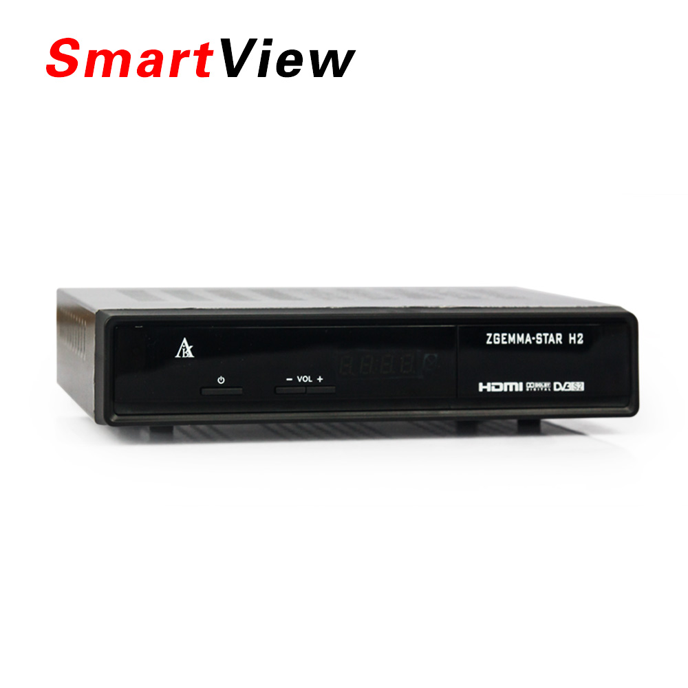 5pcs Genuine Zgemma Star H2 with DVB-S2+T2/C Combo Enigma 2 Linux Smart Box Twin Tuner Zgemma-star H2 upgraded from Cloud ibox3 star 2