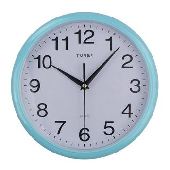 2019 New Arrivals Vintage Round Wall Clocks Modern Style Simple Plasitc Quartz Clocks Black/Pink/Silver/Sky Blue/Gold