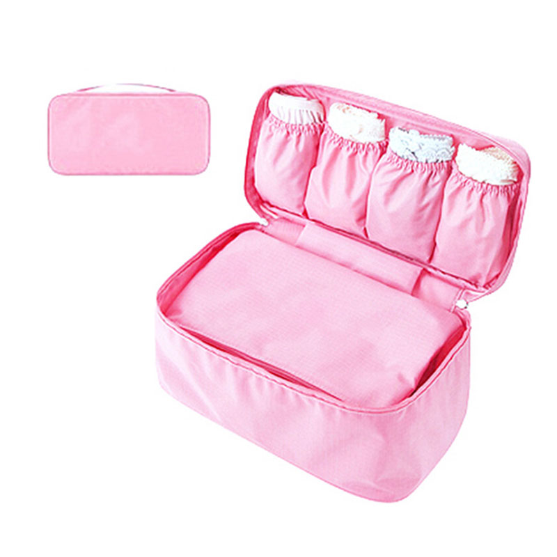 Portable Bra Storage Bag Waterproof Underwear Socks Case Box Home Bras Protect Clothes Organizer Container Travel Bags -OPK