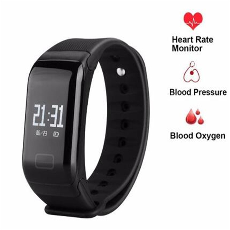 F1 Bluetooth Smartband Activity Fitness 4.0 Fit Bit Tracker Sport Bracelet Smart Band Wristband Pedometer PK M2 TW64 ID107 ID115