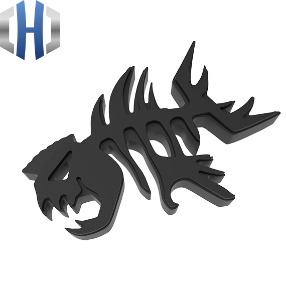 Hand-toothed Fish Key Pendant To Play EDC Flying Fish Pendant Tools