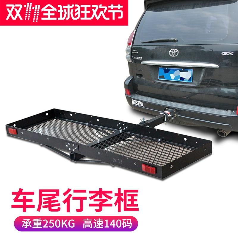 SUV off road car modification square portable car bike rack rear ...