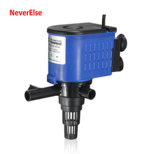 Super Aquarium Filter Pump Submersible for Fish Tank Water Circulate Increase Air/Oxygen 8/15/20/25/35/45W Pipe Tube