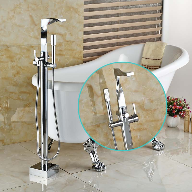 The Best 100+ Clawfoot Tub Faucet Floor Mount Image Collections ...