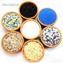 Micro landscape Garden decoration sand aquarium water fountain figurine mini stone miniatures terrarium ornament DIY accessories