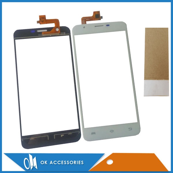 Black White Color For Bravis Atlas A551 Touch Screen Digitizer Sensor Glass Panel With Tape