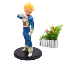 dragon ball z resolution of soldiers vol 1 son gokou vol 2 vegeta pvc collectible model 20 21cm kt3949 Anime Dragon Ball Z Super Saiya ROS Resolution of Soldiers Vegeta PVC DragonBall Action Figure Model Toys Gift