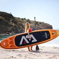 315*75*15 см надувная доска для серфинга FUSION 2019 стоячего доска для серфинга AQUA MARINA водные виды спорта САП доска ISUP B01004