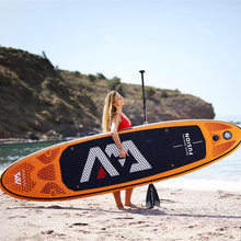 315*75*15cm inflatable surfboard FUSION 2019 stand up paddle surfing board AQUA MARINA water sport sup board ISUP B01004(China)