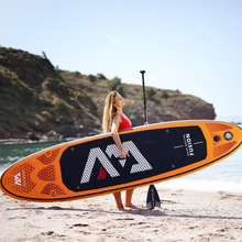 Надувная SUP доска FUSION AQUA MARINA, доска для серфинга, 315*75*15 см, ISUP B01004