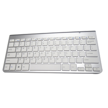 TOP Ultra Slim 2.4G Wireless Keyboard Bluetooth Online Gaming keyboard for Ipad MACBOOK LAPTOP Computer PC and android tablet