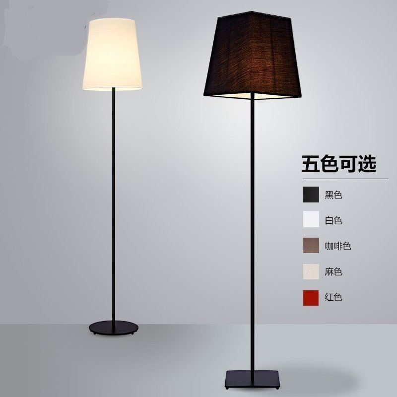 Фото Nordic  lamp bedside floor lamps Modern minimalist floor light living room bedroom study creative American
