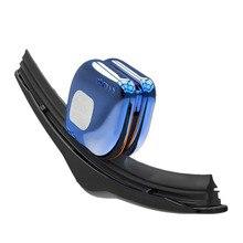 רכב מגב Blade משיב שמשה קדמית מנקה אוניברסלי ללא עצמות מגבים עם מפתח שרשרת עמיד תיקון כלים