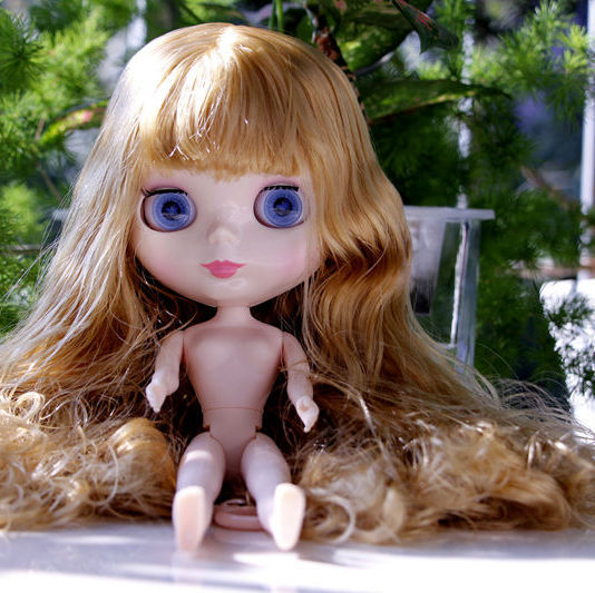 ФОТО 2017 Fashion Nude Blyth doll Suitable For Dress up by yourself DIY Change BJD Toy For Girls Blyth Free Shipping