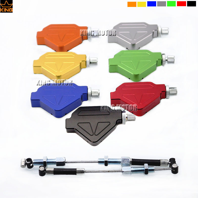 For HONDA CRF 1000 CRF1000 2016-2017 Motorcycle Accessories Aluminum Stunt Clutch Easy Pull Cable System Seven colors