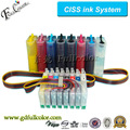 T0591 CISS Ink System for Epson Stylus Photo R2400 Bulk System with Reset Chip + 500ML Eco Solvent ink / Color